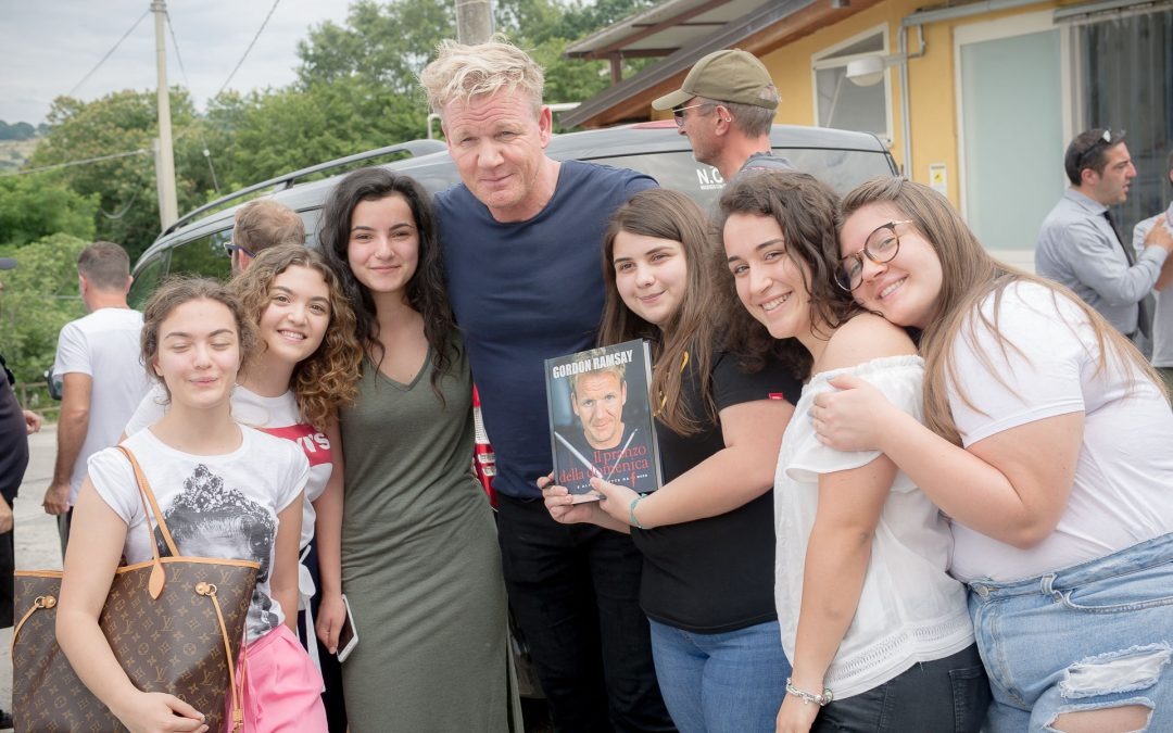 Gordon Ramsey al Caseificio Il Casolare